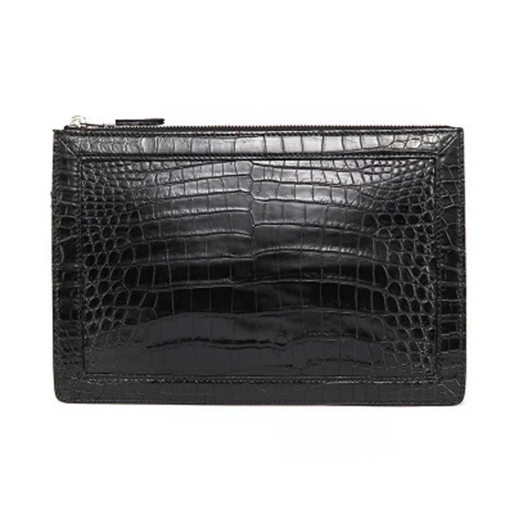 sanpijiang men bag  male  crocodile leather  new   leisure  tide  The large capacity  men clutch bag  Zipper bag  handbags