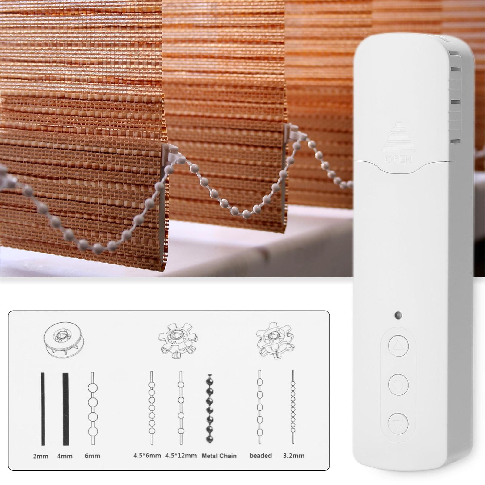 Tuya WiFi ذكي سحب حبة محرك الستائر ذكي ستارة كهربائية محرك الستائر s الهاتف المحمول APP التحكم التحكم الصوتي هادئة