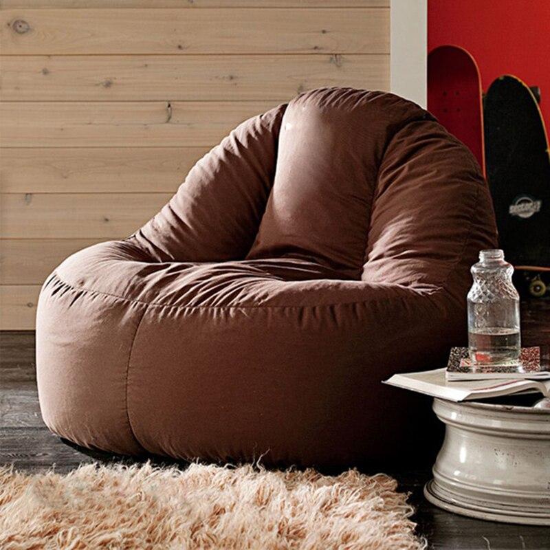 LEVMOON beanbag sofa  lounger bean bags chair living roon sitzac just beanbag cover without the filling round island design original bean bag fur lounger elegant and high warm soft beanbag sofa cushion