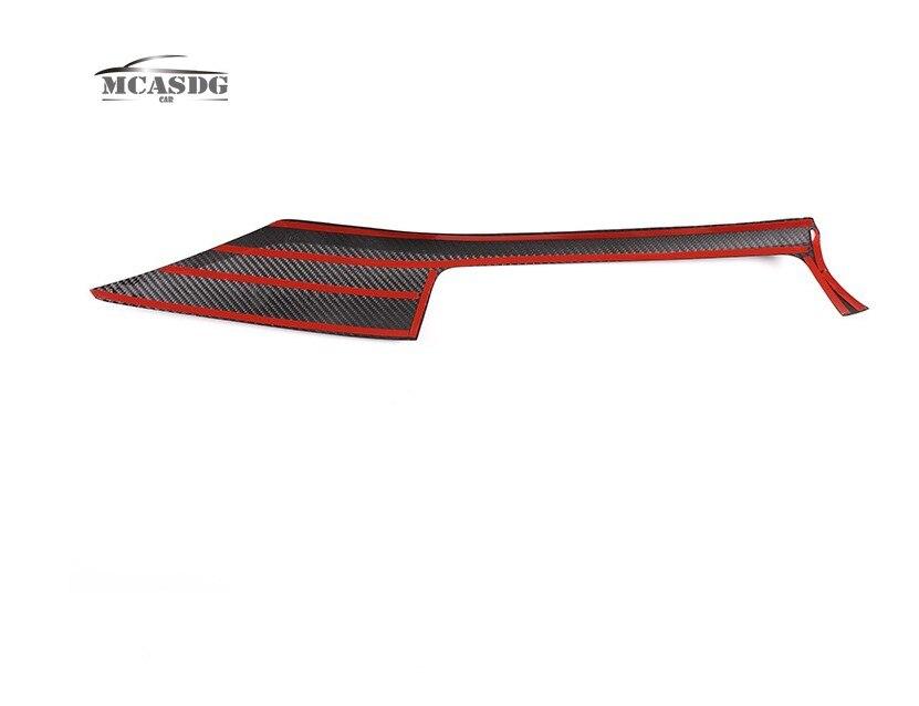 Real Carbon Fiber Interior Dashboard Center Trim Fit for BMW 3 4 Series F30 F31 F34 F32 F33 enlarge
