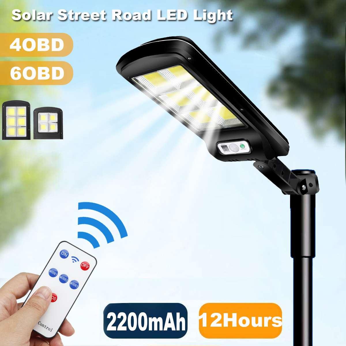 Ao ar livre led solar luz de rua luz parede ip65 à prova dwaterproof água sensor movimento rua lâmpada iluminação jardim segurança luz rua decoração