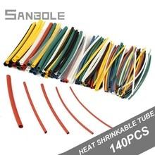 Manchon de câble 140 pièces en sacs douille de Protection de lenvironnement   Tube thermorétractable PE 600KV ignifuge