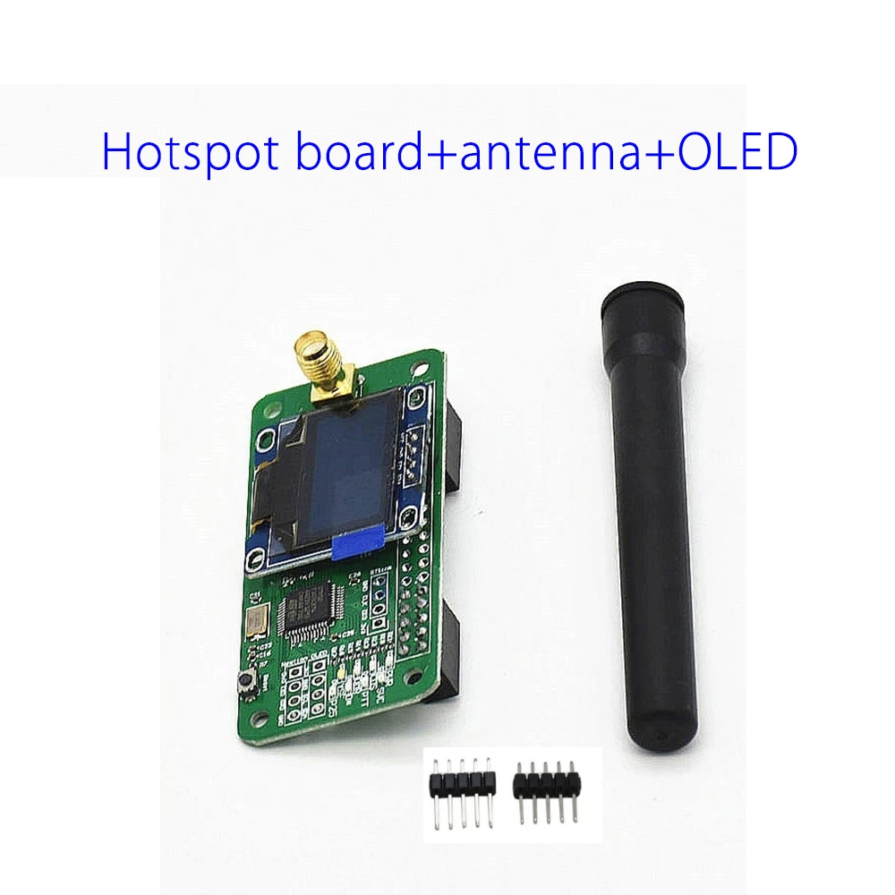 MMDVM hotspot placa + pantalla OLED apoyo UHF y Antena VHF apoyo P25 DMR YSF DSTAR NXDN raspberry Pi-cero W Pi 3 Pi 3B + 4,9