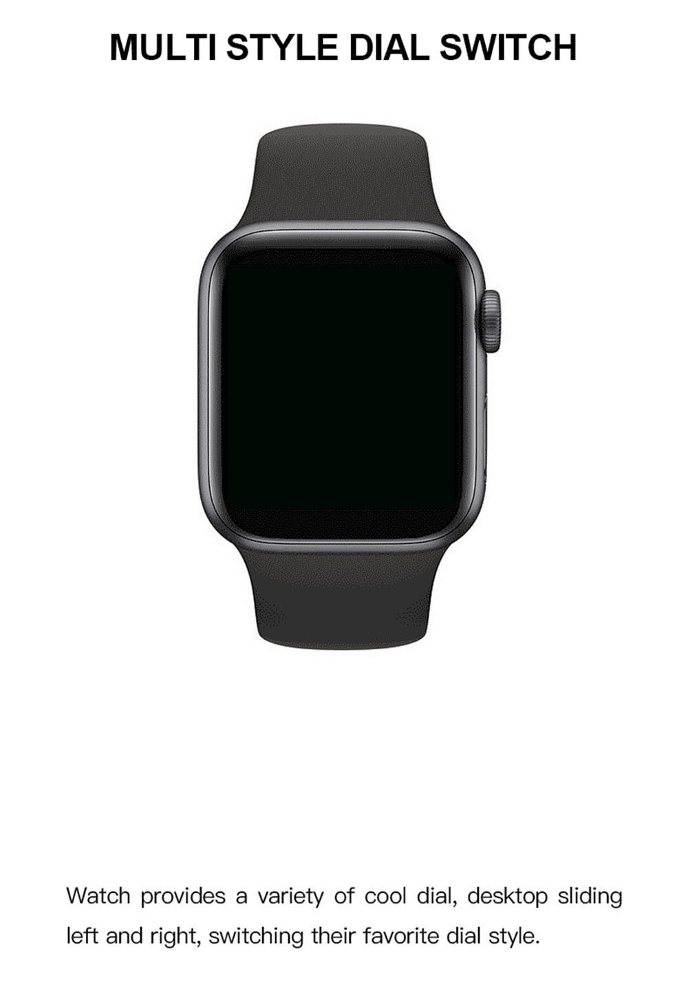 Reloj inteligente T500 PK IWO12 IWO8 T200, reloj inteligente ip67 resistente al agua con Bluetooth, llamadas, música, juego, Serie 5
