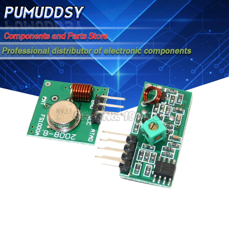 Aliexpress - 433Mhz RF transmitter and receiver kit