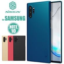 Voor Samsung Galaxy Note 10 Plus Nillkin Super Frosted Shield Hard Cover voor Samsung Note 10 Plus 9 8 7 FE Nilkin Telefoon Case