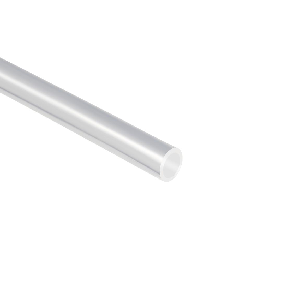 Uxcell PTFE трубка длина трубы прозрачная 3 мм ID 4 мм OD1m