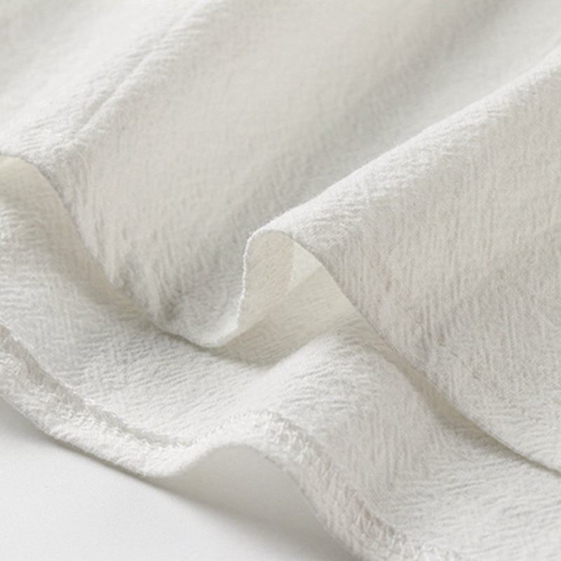 summer Men linen cotton sleep tops Tshirt Short Sleeve plus size 8XL 9XL home wear sleep wear floral tees Breathable tees 68 70