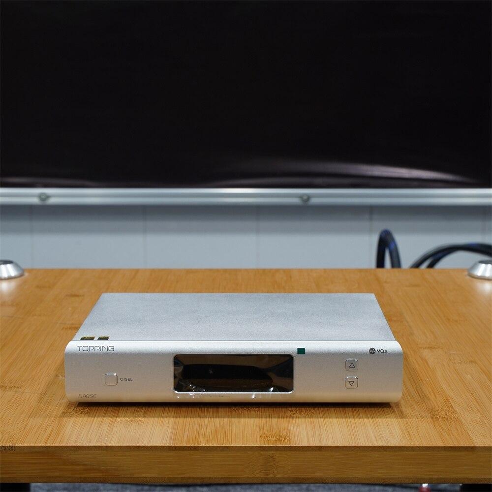 جهاز تحكم عن بعد جديد King Topping D90se ESS9038pro متوازن بالكامل DAC Xmos Xu216 DSD512 Pcm 32bit/768kHz