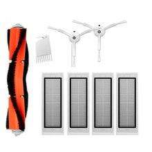 5 pièces aspirateur pièces lavable Hepa filtre côté brosses roulement Bush pour aspirateur accessoire