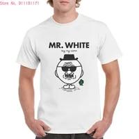brand breaking bad t shirt unisex cool heisenberg mr white graphics tops 100 cotton oversized t shirts femaleman