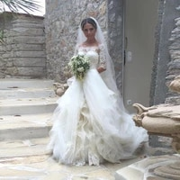 elegant beach wedding dress floral appliqued lace spaghetti straps backless a line bridal gowns 2020 spring summer