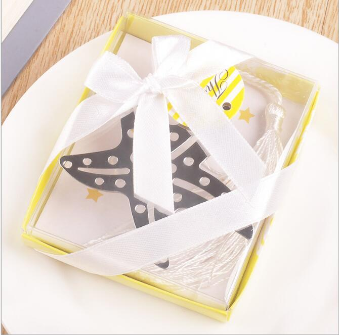 Starfish Bookmark In Gift Box Wedding Baby Shower Children Kds Birthday Party Favor Gifts