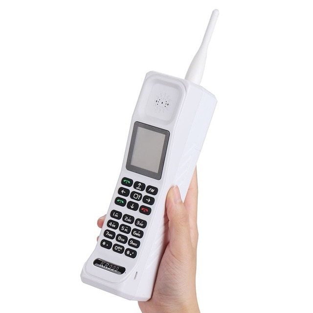 (Gift) Super Big KR999 Luxury Retro Telephone With Russian Keyboard Loud Sound Power Bank Standby Du