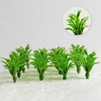3cm model grass mini plants artificial landscape scenery fake garden train railway layout dollhouse decoration