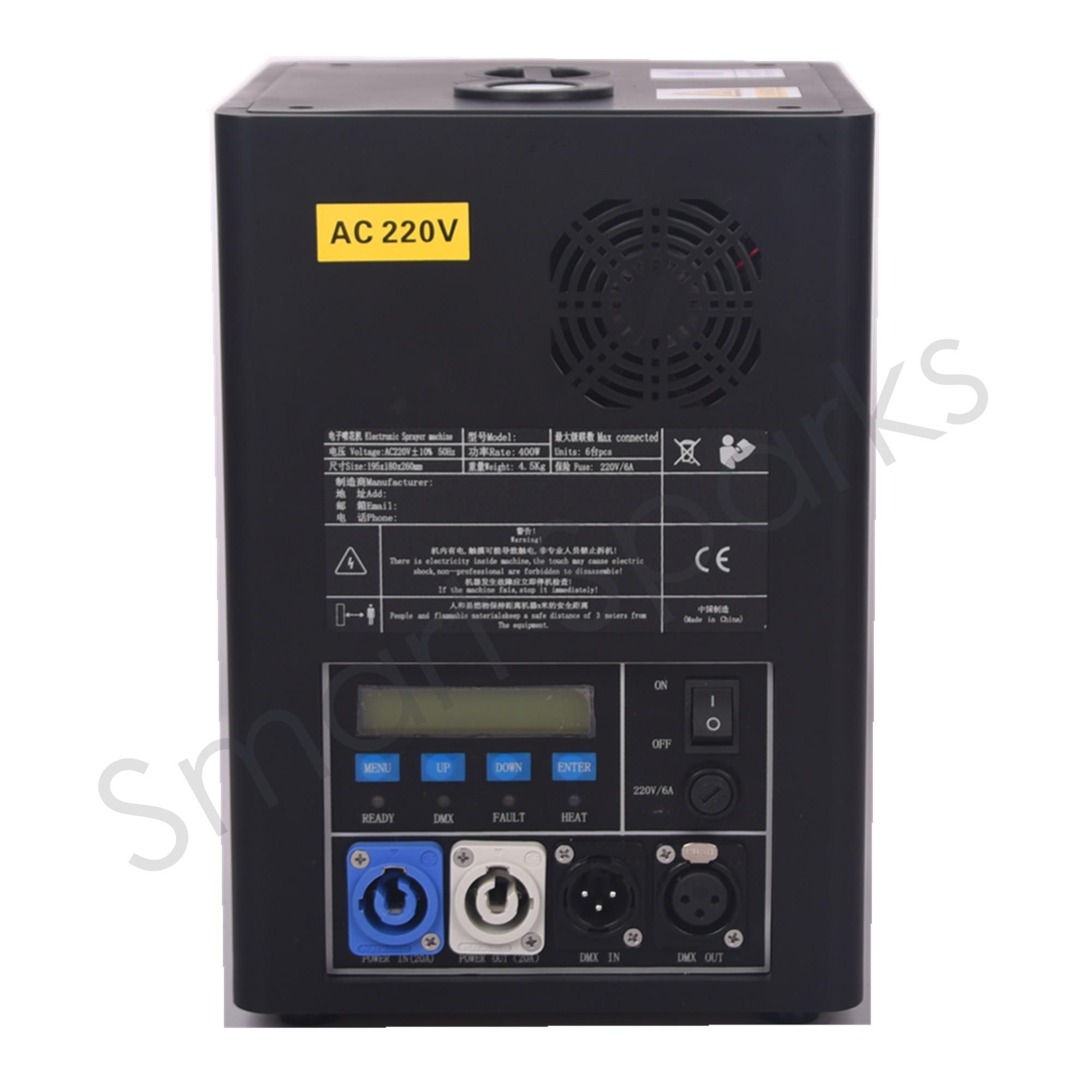Prosound الإضاءة الألعاب النارية آلة تحكم dj تحكم XG18H02