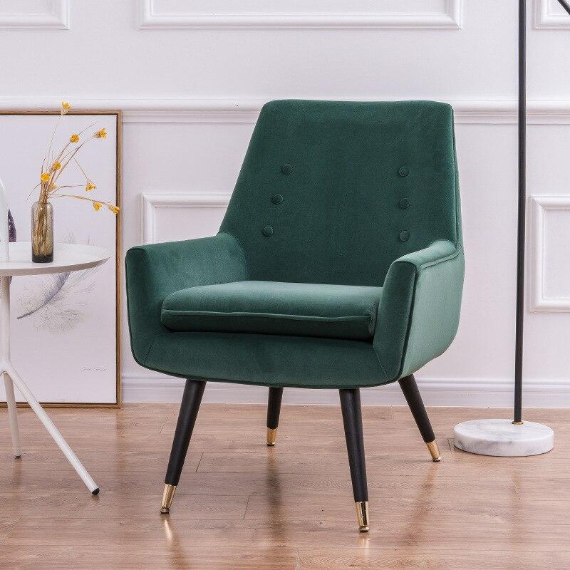 Постсовременный итальянский-Американский Скандинавский роскошный бархатный диван для офиса, отдыха, переговоров, одиночный стул с тигром, мебель для гостиной, диваны