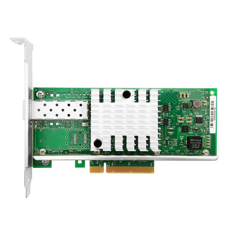 X520-DA1 10G SFP + PCIe 2,0 X8 Однопортовый сетевой адаптер Intel 82599EN