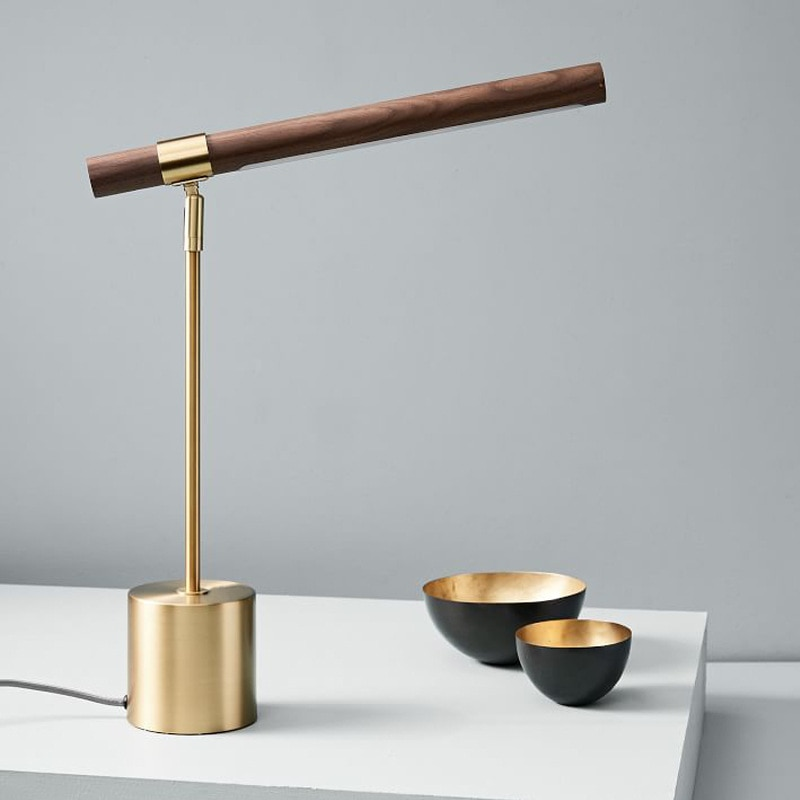 Lámpara De Mesa De lujo nórdica, diseño creativo, dorado, Para casa, oficina,...