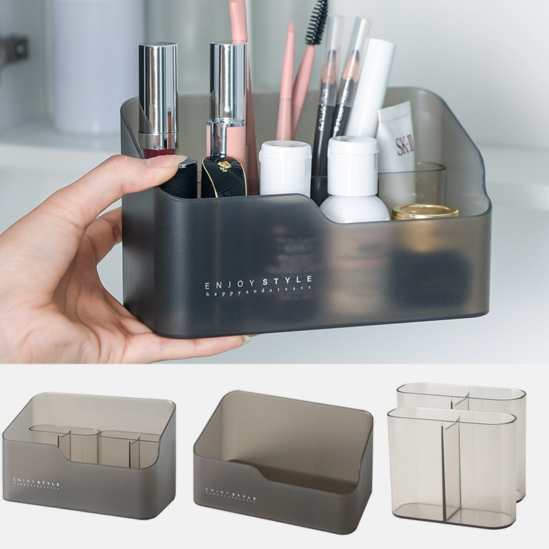 Makeup Cosmetics Organizer Storage Box Multifunctional Skin Care Products Remote Control Cosmetics J