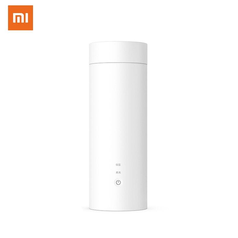 Xiaomi Viomi электрическая чашка для путешествий 400 мл портативная электрическая нагревательная бутылка для воды из нержавеющей стали умный контроль температуры