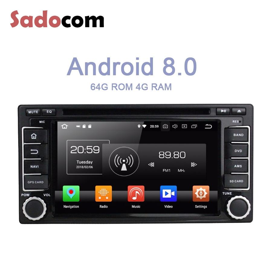 IPS Android 8,0 Forester para Subaru Impreza 2008-2011 4GB RAM 64G ROM reproductor de DVD del coche GPS mapa Glonass multimedia Radio Bluetooth