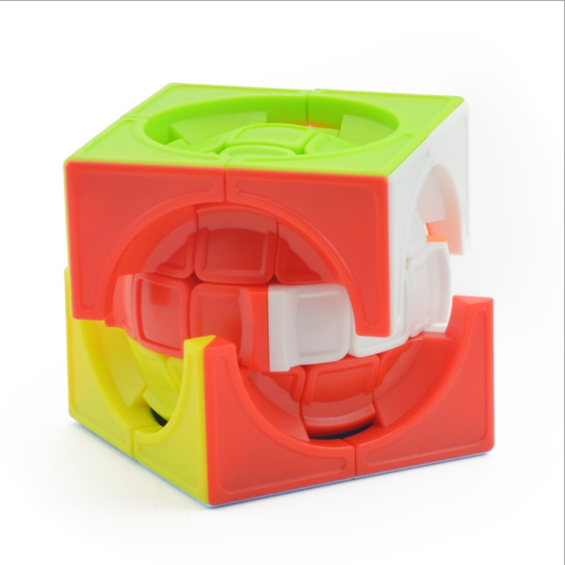 mf8 dodecahedron redbud magic cube bauhinia twisty puzzle speed rubiks cube educational toys gifts for kids children Lefun3x3x3 Plastic Puzzle Cube Colorful Kids Toys Rainbow Magic Cube Toy Adult Kids Creative Educational Toys Gifts for Children