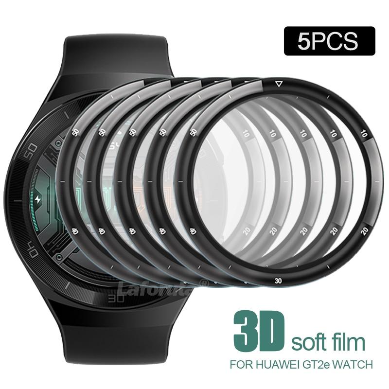 화웨이 워치용 풀 커버리지 보호 필름, 3D 커브드 소프트 스크린 프로텍터, 유리가 아닌 액세서리, 5 개