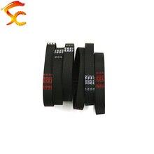 2 uds 2GT 202 6 cinturón lazo cerrado de goma GT2-202-6 Correa Teeth102 longitud 202mm ancho 4mm 6mm 10mm para 3D impresora