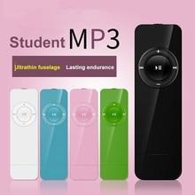 Reproductor de música Mp3 Mini Usb portátil compatible con tarjeta Micro Sd Tf, reproductor de Mp3 deportivo para aprender