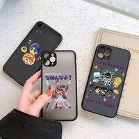 jojos bizarre adventure anime phone case matte transparent for iphone 7 8 11 12 plus mini x xs xr pro max cover