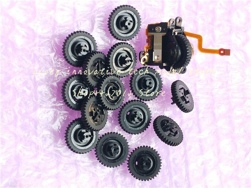 Nueva unidad de rueda giratoria con botón de apertura para Canon EOS 6D 5D mark III IV 5d3 5D4 pieza de reparación para cámara digital