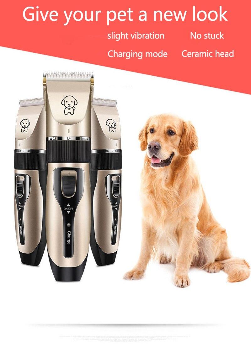 Máquina para afeitar perros, cortadora de pelo de mascotas, afeitadora de pelo de perro de teddy cat, cortadora de pelo profesional, cortadora de pelo, tijeras para perro