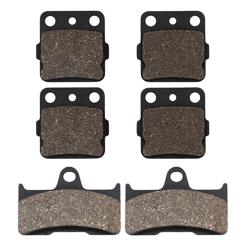 Motorcycle Front and Rear Brake Pads for YAMAHA Grizzly 660 YFM660 YFM660FA Hunter YFM 660 2002 2003 2004 2005 2006 2007 2008
