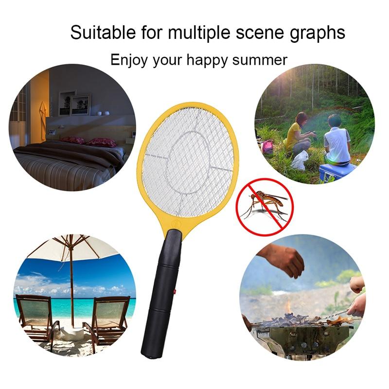 Draadloze batterij aangedreven elektrische vliegenmuggenmepper bug - Tuinbenodigdheden - Foto 6