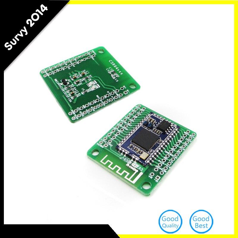 CSRA64215 4,0 4,2 Módulo de Audio Bluetooth APTX-LL TWS I2S salida 12 v 5 v fuente de alimentación