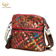 New Colorful Real Leather Famous Luxury Patchwork Designer Large Shopper Purse Handbag Over The Shou