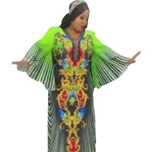 African Long Maxi Dresses For Women 2021 New Fashion Africa Kaftan Long Dresses Free Size Loose Party Muslim Dress Fashion Abaya