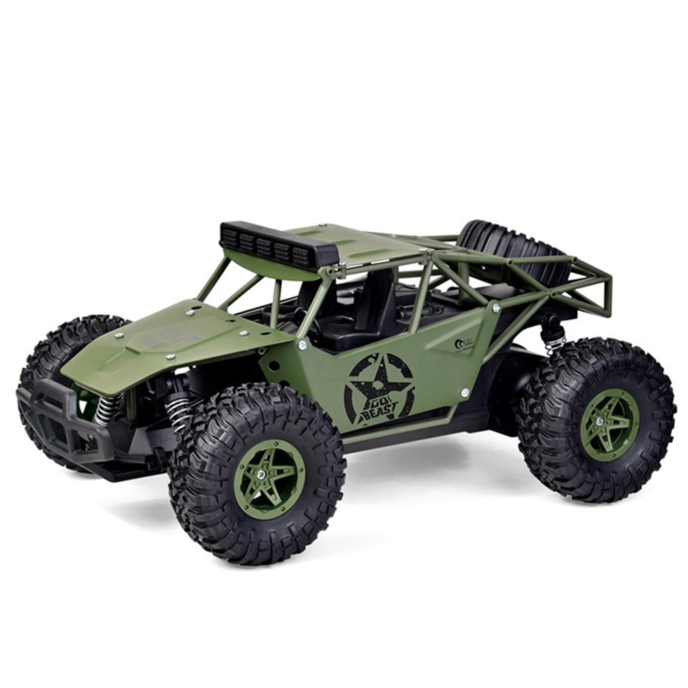 1:16 2.4Ghz Kids Gift Boys Model Vehicles Remote Control Hobby Adults Climbing Off Road RC Car Racing Truck Alloy Toys BG1527