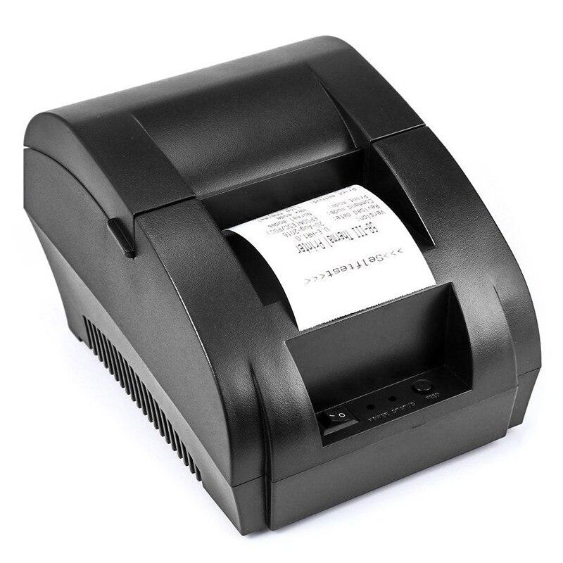 TEROW 5890K طابعة الإيصالات الحرارية تذكرة POS بلوتوث متوافق مع واجهة USB للهاتف ويندوز مطعم بيل الدفع