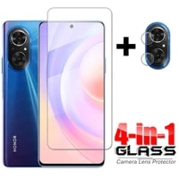 4 in 1 glass on honor 50 se full glue tempered glass for huawei honor 50 se hd phone screen protector honor 50 se camera glass