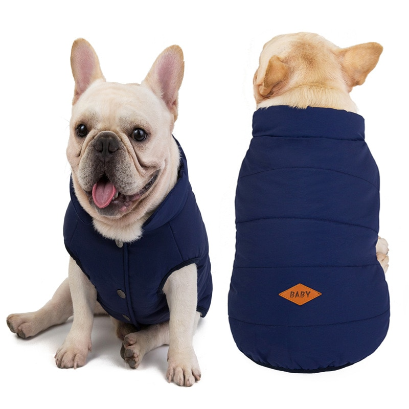 Winter Dog Clothes Warm Pet Jacket Coat Puppy Chihuahua Clothing Hoodies for Small Medium Dogs Outfit