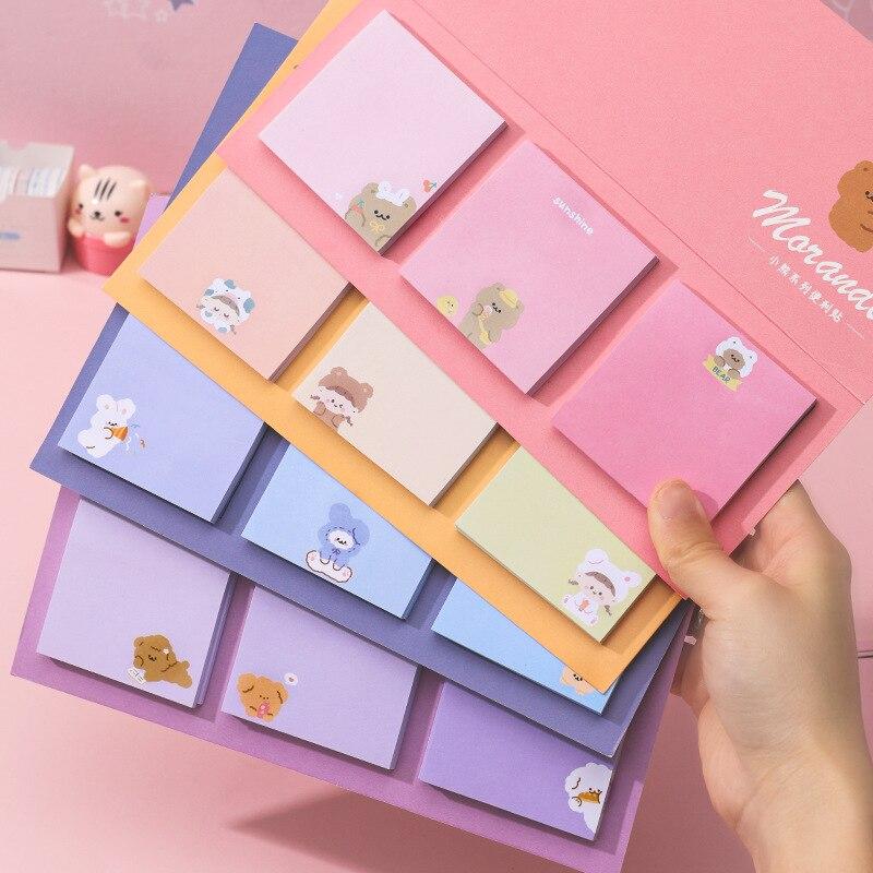 60 шт./3 цветные Стикеры для заметок индекс Блокнот закладки милый планировщик Бумага наклейки канцелярская бумага для детей