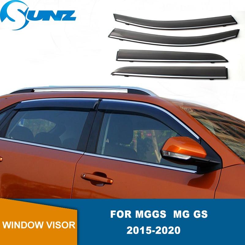 Side Window Deflectors For MG GS MGGS 2015 2016 2017 2018 2019 2020 Smoke Car Window Shield Sun Rain Deflector Guards SUNZ