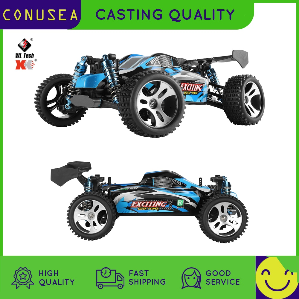 Wltoys 184001 4WD rc car brushless motor Radio Controlled truck High Speed 30km/h 1/18 Climbing Drif