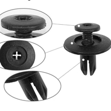 Fasteners Are Suitable For Automotive Plastic Large Cover Turnbuckles/Black Lining Door Panel Fixing