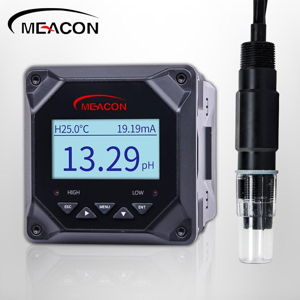 محطة معالجة صرف صحي مقياس درجة الحموضة الرقمية للتحكم في المياه ph ec