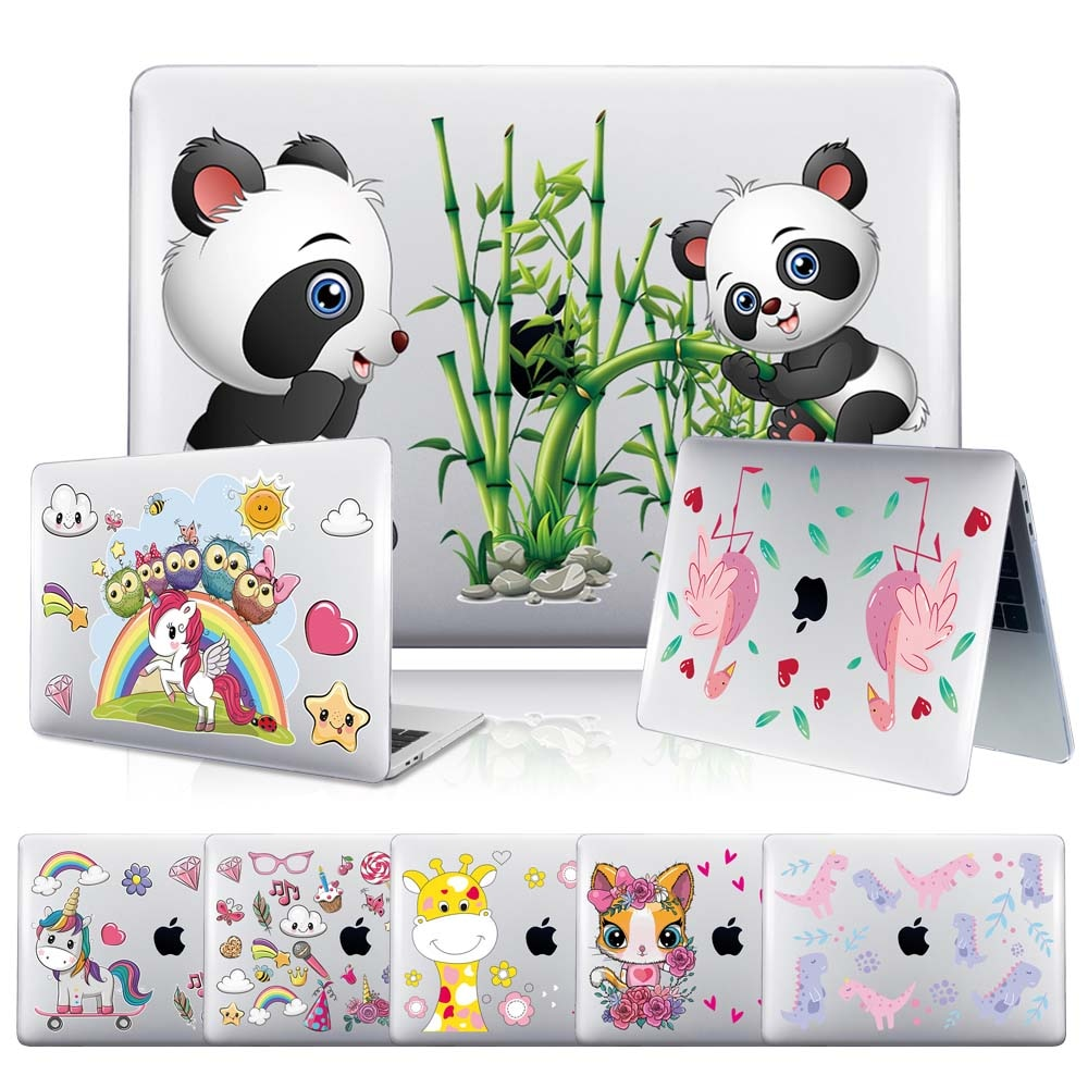 New Printing Laptop Case for Apple MacBook Air 11 13 Inch/Pro 13 15 Inch/Pro 16 Inch Anti-fall Cartoon Series Hard Shell Case
