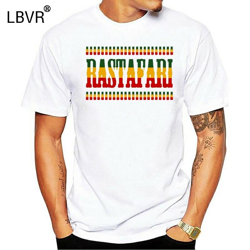 Camiseta transpirable para hombre, camiseta Reggae Rastaman, camiseta de regalo, camiseta estampada 100% de algodón, talla grande Xxxl Homme 031533