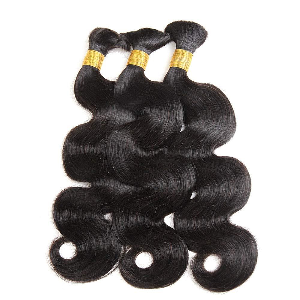 Бразильские человеческие волосы оптом для плетения, натуральные черные волнистые волосы оптом, человеческие волосы без уточка, человеческ...
